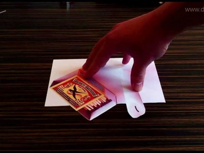 Mind blowing 3D optical illusion on paper
