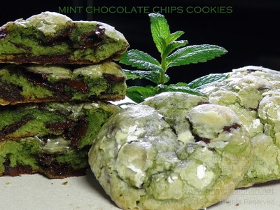 Mint Chocolate Chips Cookies – Bruno Albouze – THE REAL DEAL
