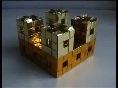 Origami - modular - origami fractal - dutchpapergirl