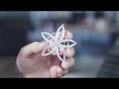 The Instructables 3D Printed Ornament Design Challenge