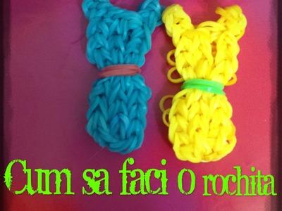 Adde_Loom tutorial- Cum sa faci o rochita din elastice loom bands-