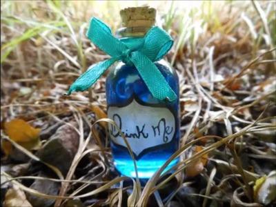DIY Drink Me: Alice no País das Maravilhas (Alice in Wonderland)