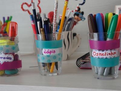 DIY: Potinhos Decorativos (volta às aulas)
