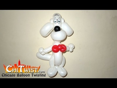 Easy Mr. Peabody Balloon Dog   ChiTwist Chicago Balloon Twisting