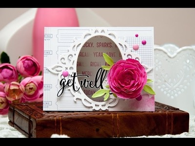 How to: Create a Floral Get Well Card