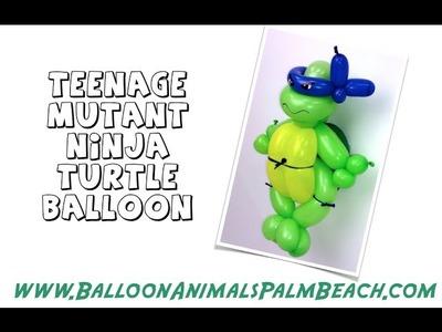 How To Make A Teenage Mutant Ninja Turtle Balloon - Balloon Animals Palm Beach