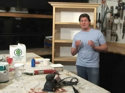 Paint A BookCase Easy