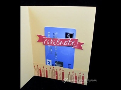 Quick Gift Card holder