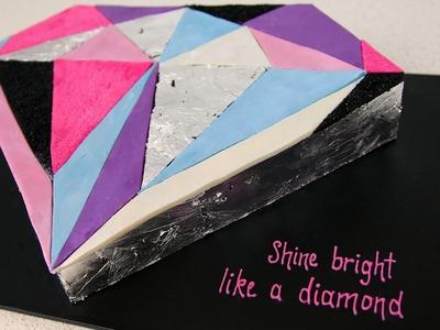 Shine Bright Like A Diamond Cake - CAKE STYLE