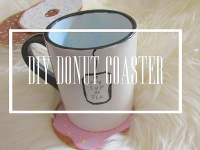 - ̗̀ DIY DONUT COASTER ̖́-