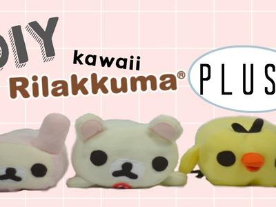 DIY: EASY Korilakkuma & Kiiroitori (Rilakkuma) Plushes Free Templates!