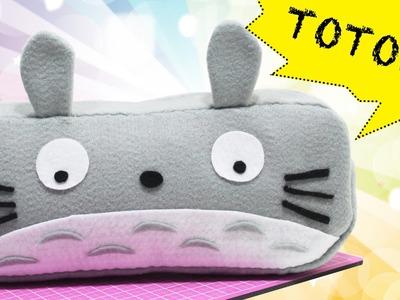 DIY -  Estojo Totoro -  Pencil Case -  Segredos de Aline