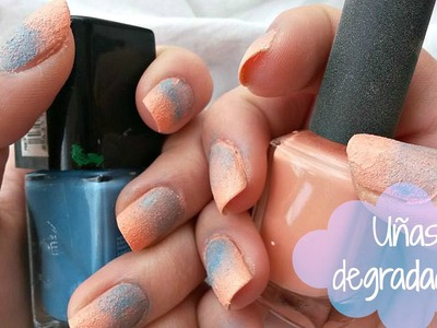 Uñas Degradadas - DIY Nail Art