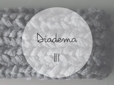 DIY Diadema con telar circular