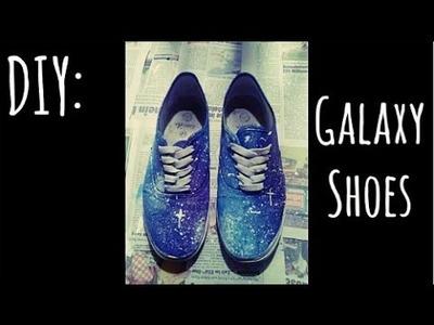 DIY: Galaxy Shoes! [german] | TheCookieKilljoy