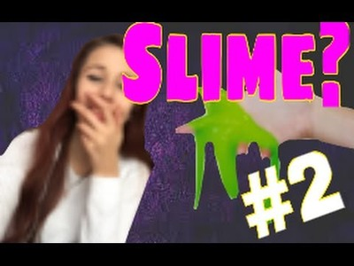 DIY slime con ingredienti italiani?colla e amido ||Pin Test|| ep.2