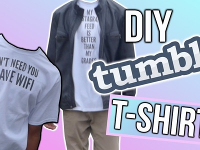 DIY TUMBLR T-SHIRTS | ROVELL