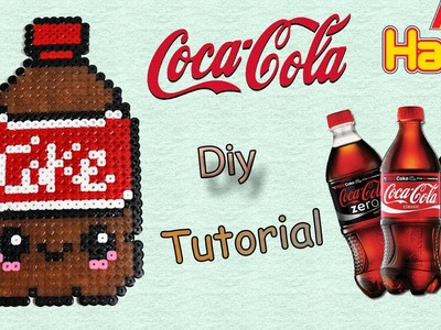 Coca Cola con Hama Beads. Peler Beads Drink Series Tutorial !