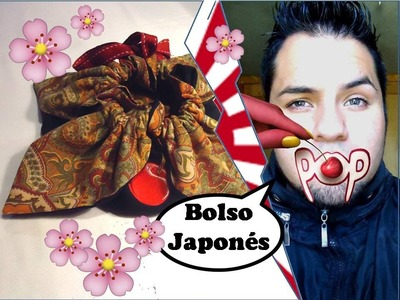 Como hacer un BOLSO JAPONES FUROSHIKI ❀(FLOR DE LOTO) .  (Er!ck Cherry)
