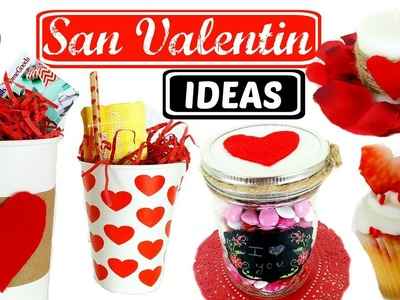DIY- IDEAS PARA SAN VALENTIN FACILES Y BONITAS | SOY CAT