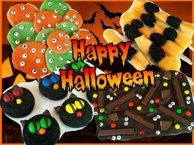 Ideas Faciles De Snacks Para Halloween | SOY CAT