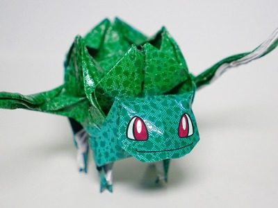Origami Pokemon - Bulbasaur tutorial (Henry Phạm)