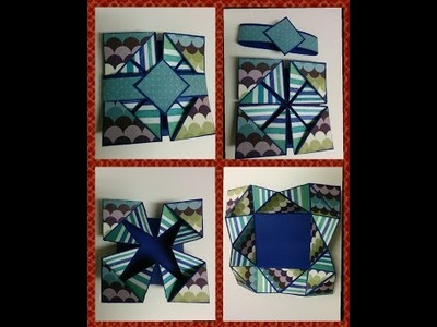 Art and Craft: How to make Napkin fold card