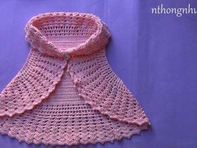 Crochet a bolero jacket
