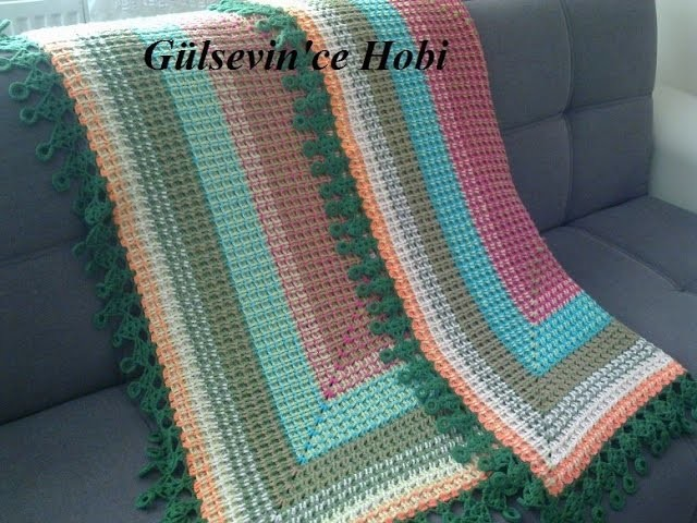 Crochet Patterns| for free |Crochet Baby Blanket| 613