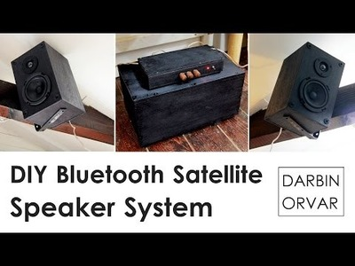 DIY Bluetooth Satellite Speaker System with Subwoofer by Darbin Orvar