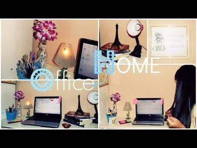 DIY: Como montar HOME OFFICE ♥ Caroline Moura