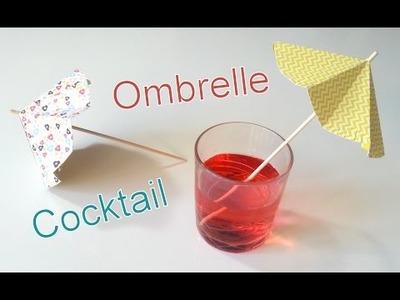 DIY Déco Ombrelle à Cocktail