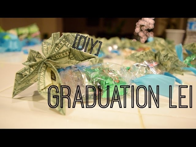 DIY | Graduation Flower Money.Candy Lei | Day 17 of 25 Days of Christmas