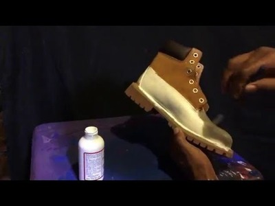 DIY HOW TO CUSTOMIZE TIMBERLAND BOOTS