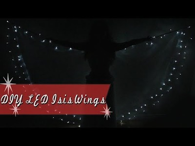 DIY LED Isis Wings for Belly Dance & Burlesque
