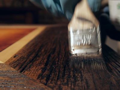 DIY Major Scratch Repair Video - Western Heritage Furniture - Reclaimed Barnwood
