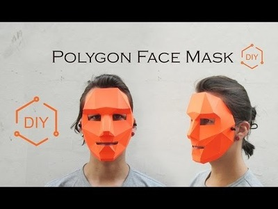 DIY - Polygon Mask. Geometric Mask. Wintercroft