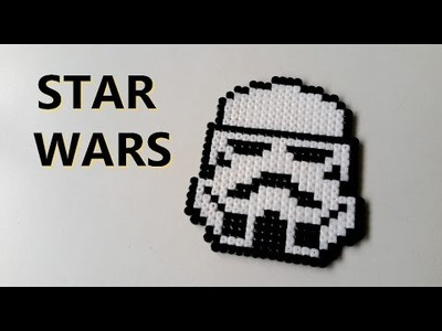 DIY : Star Wars Perles HAMA. Perler Beads Star Wars