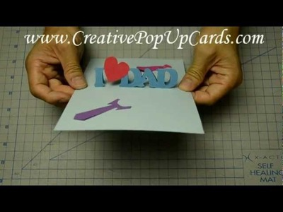 Easy Father's Day Pop Up Card Tutorial