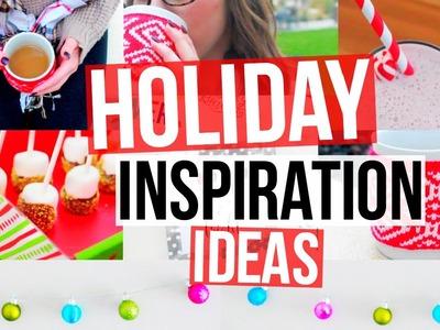 Holiday Inspiration! Favorites, DIY Decor, Treats, & More!