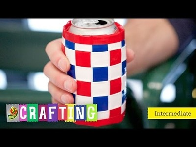 How to Craft a Duck Tape® Woven Drink Holder w. SimplyDuckDesigns