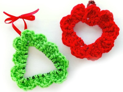 How To Crochet A Bendy Scalloped Ornament, Episode 270
