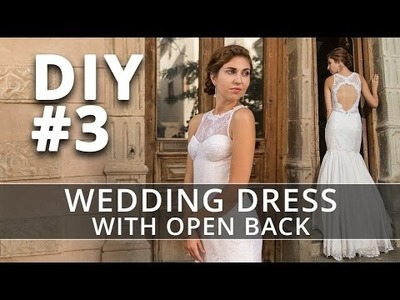 How to make a Wedding Dress? DIY Sew your own Bridal Gown. #3