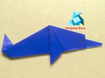 How To Make Origami Dolphin Easy For Beginners