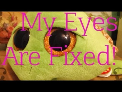 How to Make your'e Beanie Boo's Scratched eyes Fixed