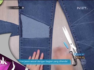 ILook - DIY Patchwork Denim Jeans