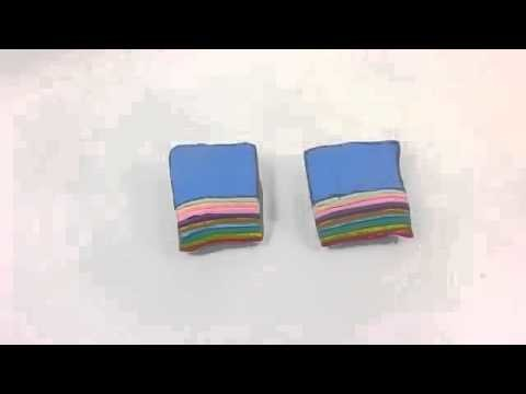 Play doh - disney -     !      DIY How To Make 'Rubber Clay Rainbow Sushi' Toys Kit