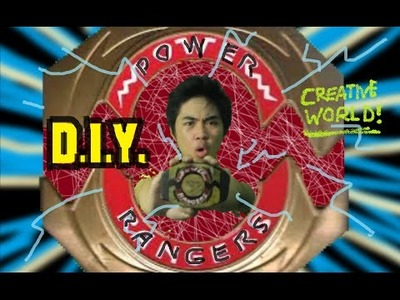 Power Rangers Original Morpher D.I.Y. - Creative World!