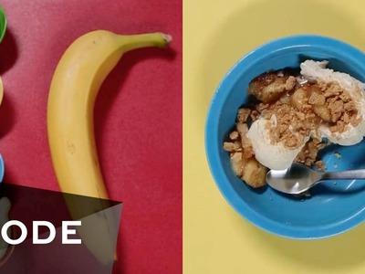 Sweet Banana Sundae Funday   Bite-Size
