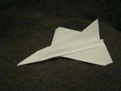 12 Paper Aircraft  - 10 - Jet Plane